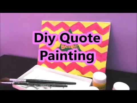 diy-canvas-quote-painting-|-acrylic-painting-ideas-|-home-decor-idea-|-learning-process