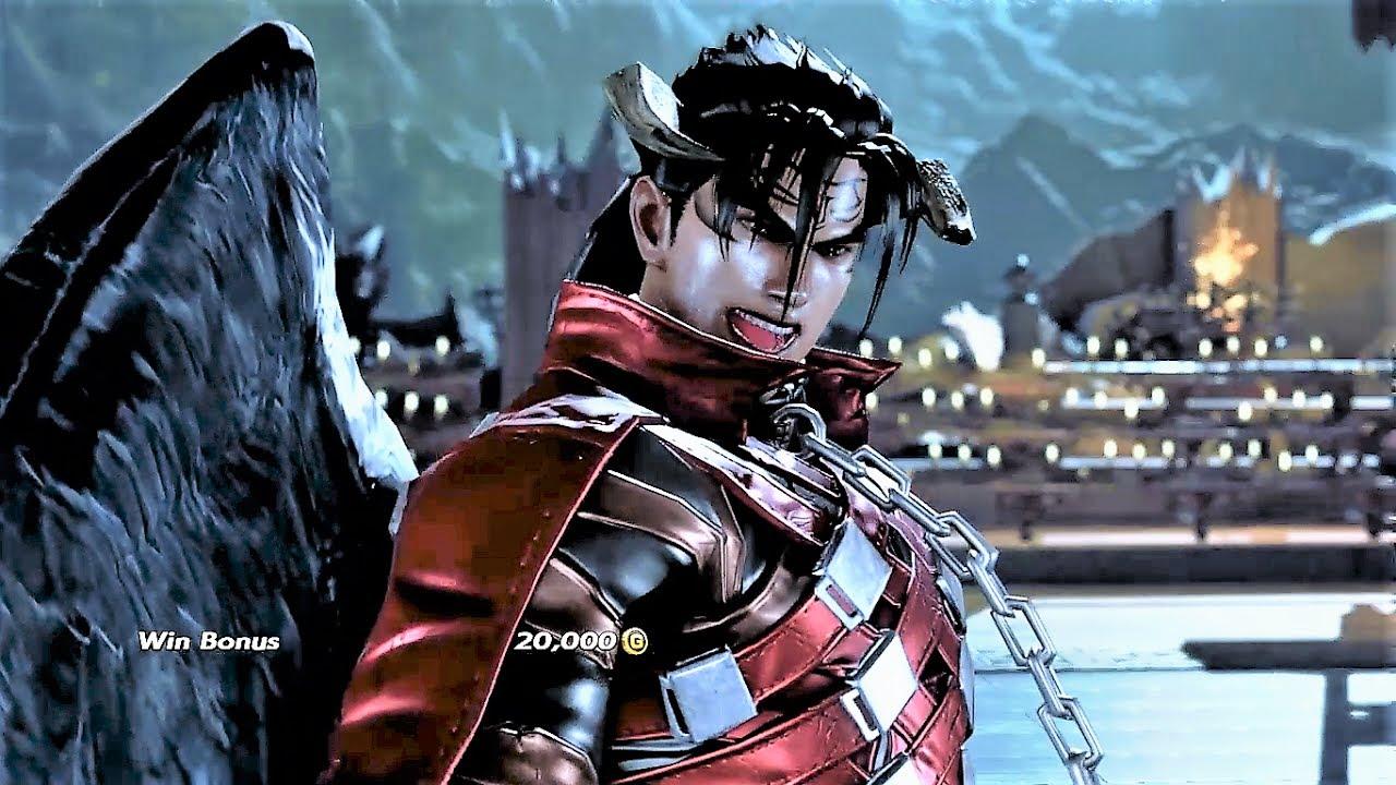 Tekken 7 Arcade Battle Devil Jin Youtube