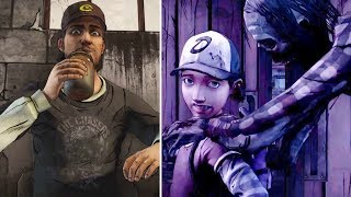 Clem Leaves Nick Alone vs Convince Him to Escape -All Choices- The Walking Dead