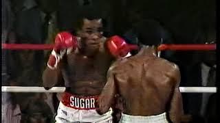 Sugar Ray Leonard vs Thomas Hearns with Howard Cosell