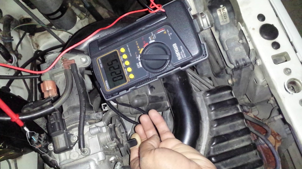 How To Test Tps Sensor With Mutimeter Youtube Ford Wiring