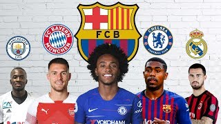 Latest Transfer News: Willian to Barcelona, Suso to Real Madrid and more