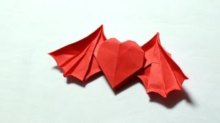 How to make an origami devil heart (Henry Phạm)