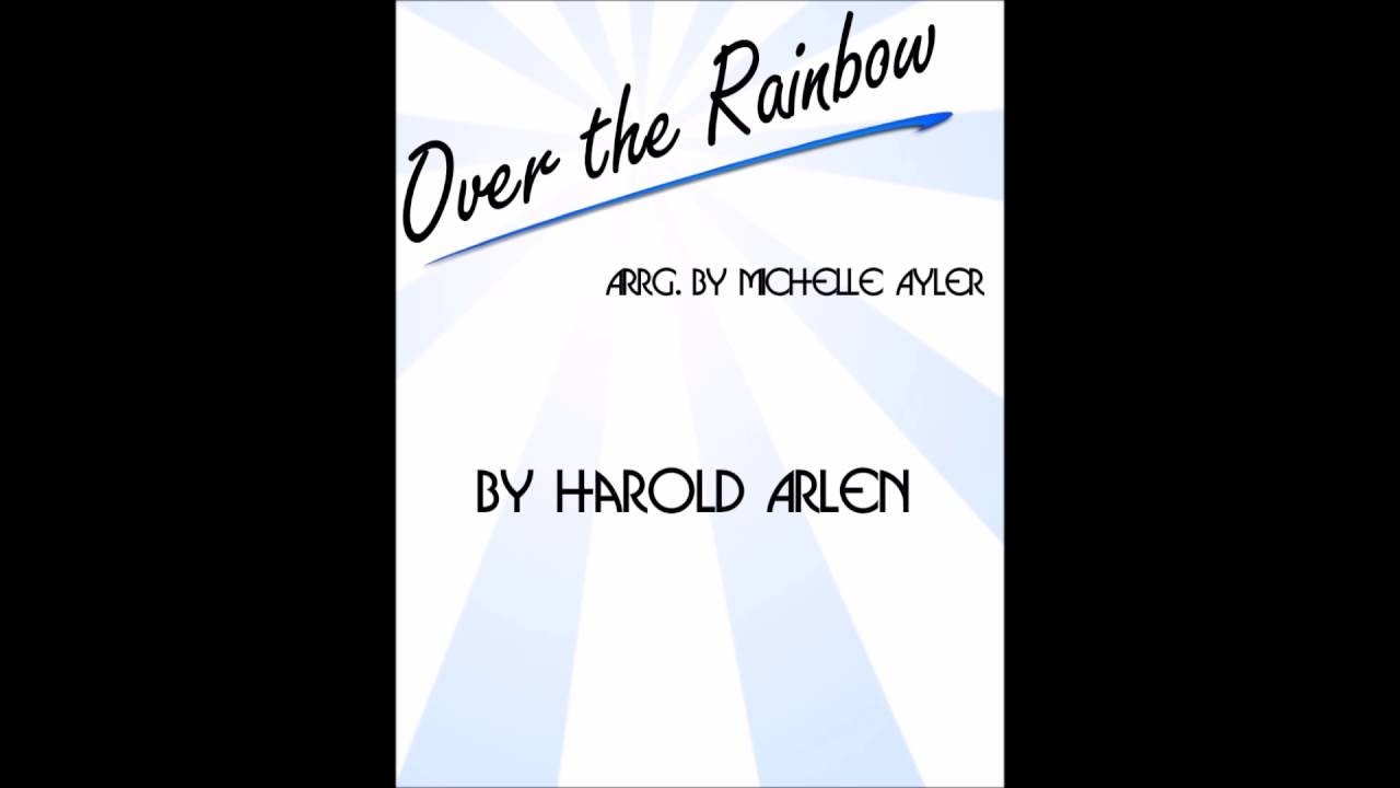 Somewhere over the rainbow jazz piano sheet music youtube hexwebz Gallery