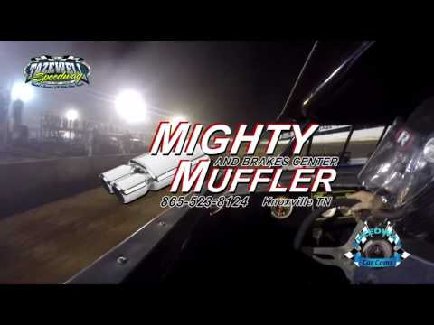#50 Jonathan Miracle - Sportsman - 7-2-17 Tazewell Speedway - In-Car Camera
