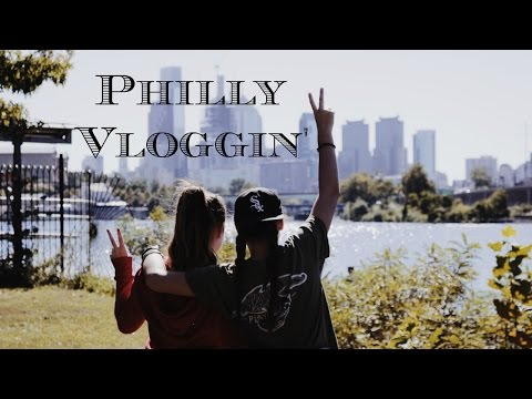 PHILADELPHIA VLOG! :D (my phone slide ACROSS the SEWER!?!)