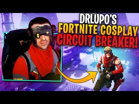 DrLupo's Fortnite Cosplay! Circuit Breaker!
