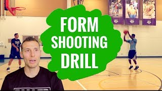Form shooting drill for basketball...it's a game