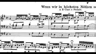 Wenn wir in hochsten noten sein  Bwv 641 (Orgelbuchlein) - J.S.B bach   (Aldo Locatelli)