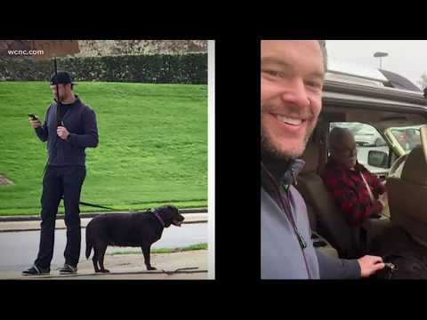 The Mo & Sally Show - Man Stands Out On Street To Find Missing Dog's Owner