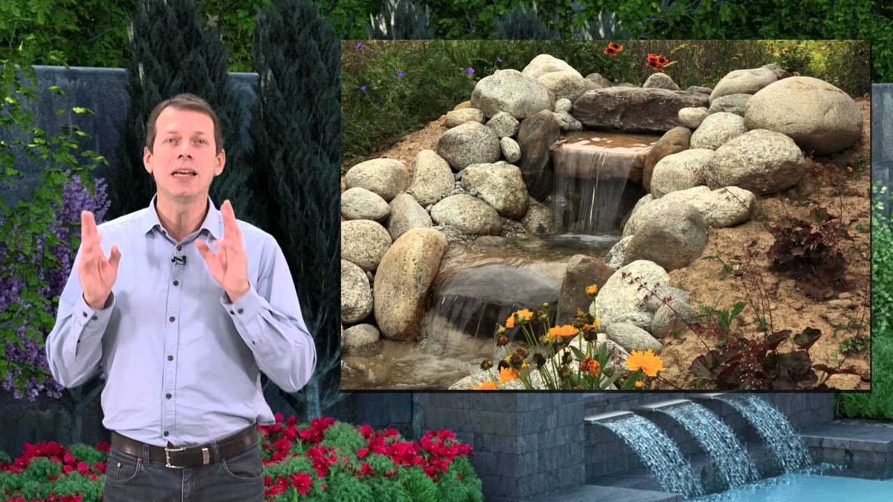 cascade pierre naturelle exterieur et jardin