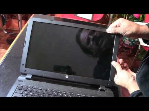 """Laptop Screen Replacement/How to replace laptop screen [HP-Compaq HP 15-F211WM TOUCH Screen]"