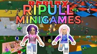 Roblox: Ripull Minigames / Minigame Madness! 🤸♀️🤾♀️