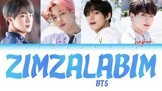 How Would BTS sing 'ZIMZALABIM' by RED VELVET(Color Lyrics Eng/Rom/Han)(FANMADE)