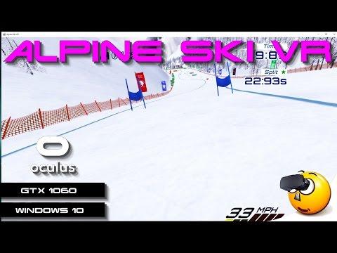 VR   Alpine Ski VR   Oculus Rift   GeForce GTX 1060