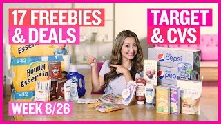 ★ Top 17 FREEBIES & Coupon Deals Target & CVS (Week 8/26 – 9/1)