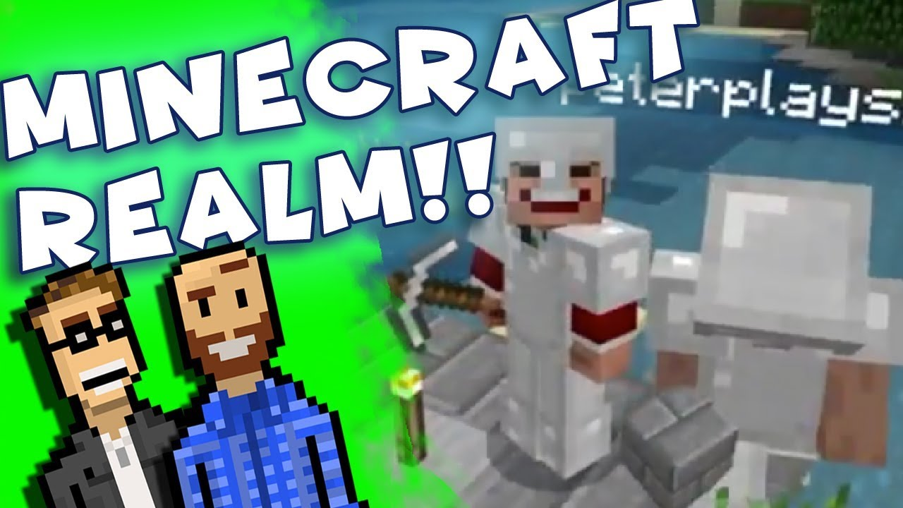 Join Our Minecraft REALM! | BasementCraft Part 1 | Vanilla Survival Bedrock  (Switch) | The Basement