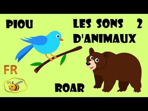 les cris et bruits des animaux en francais 2 dessin educatif pour bebe learn french for kids