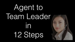Become a Team Leader - 12 Step Plan to Success