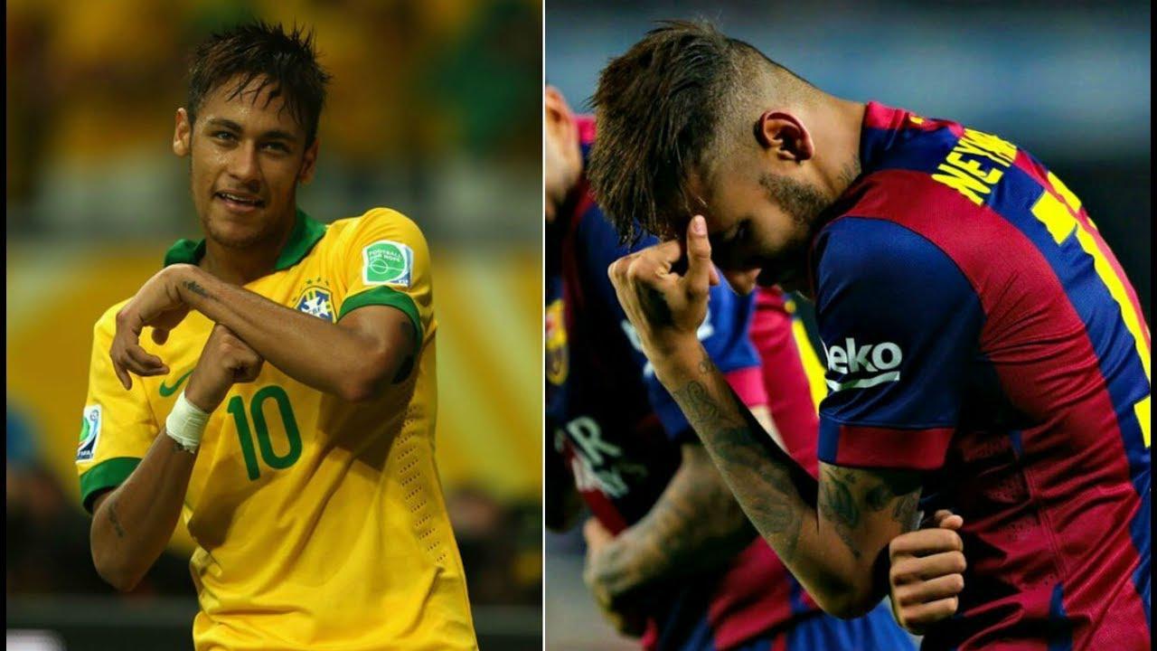 Neymar Jr  E  B Best Dancing Goal Celebrations Ever Hd