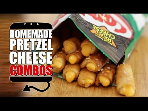 HOW TO MAKE Pizza Cracker & Nacho Cheese Pretzel Combos Recipe  |  HellthyJunkFood