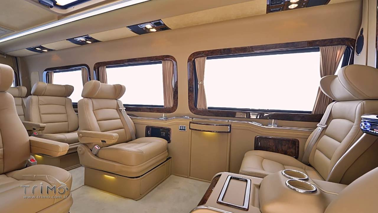 Mercedes Benz Van >> Mercedes Benz Sprinter SVD1010 VIP Design by TRIMO - YouTube