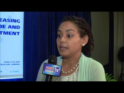 Robertha Reid at the 3rd CARIFORUM EU Business Forum