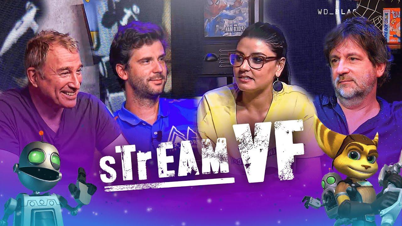 StreamVF Ratchet and Clank avec le cast du jeu: Cyrille Artaux Martial le Minoux feat Caro Quintaine