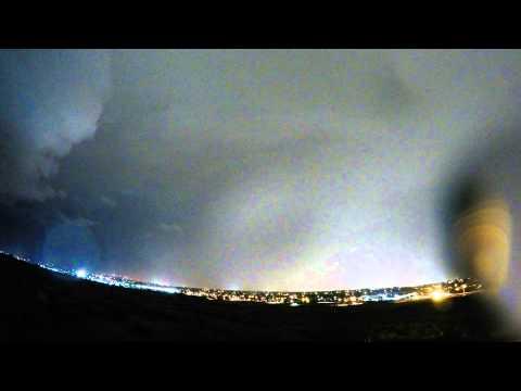 Storm Lapse - Lehi, UT -- 7/08/15
