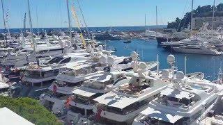 Замечательные виды на гавань в Монако с Террасы ресторана Ла Море. Яхт Шоу в Монако - Монако 2015(, 2016-01-02T20:30:58.000Z)