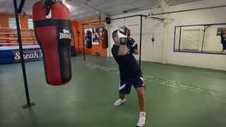 Boxing Uppercut Demo - from FightYourselfFit.com