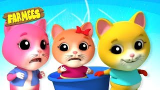 Three Little Kittens | Nursery Rhymes And kids Songs | Videos for Babies