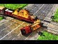 Burning Train Simulator Games / Android Gameplay HD