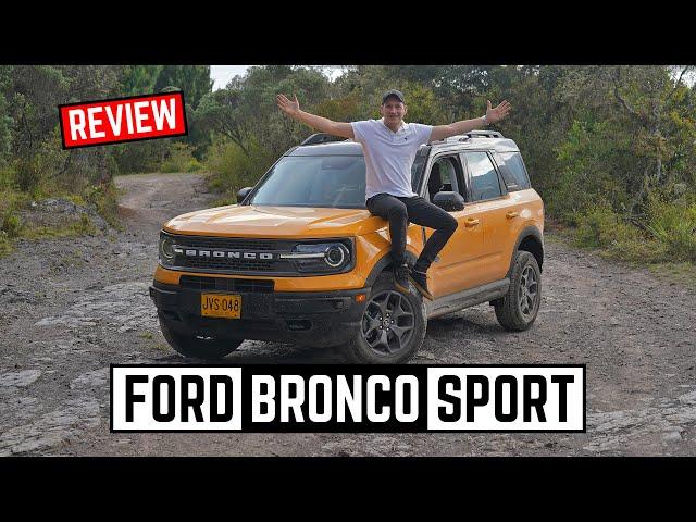 Ford Bronco Sport 🔥 Perfecta para la aventura 4x4🔥 Prueba - Reseña