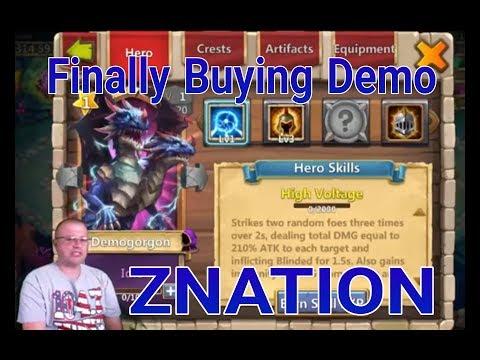 Castle Clash Finally Buying Demogorgon