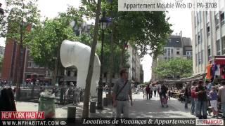 Visite vidéo d'un appartement T2 dans le Marais, à Paris