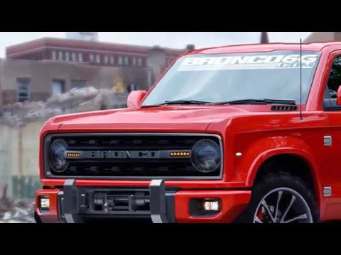 Ford Bronco is planning to build one by 2020