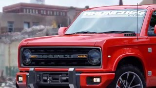 Ford Bronco Isplanning To Build One By 2020