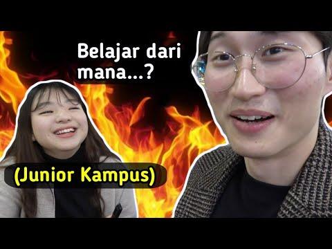 CEWEK KOREA INI TAHU BAHASA KASAR INDONESIA?