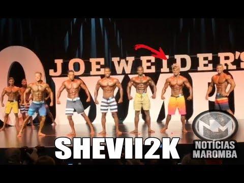 SHEVIII2K NO OLYMPIA - CONFRONTO COMPLETO
