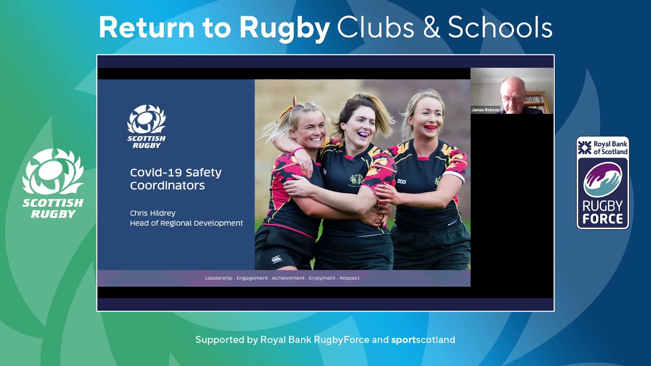 Webinar | Return to Rugby Clubs and Schools