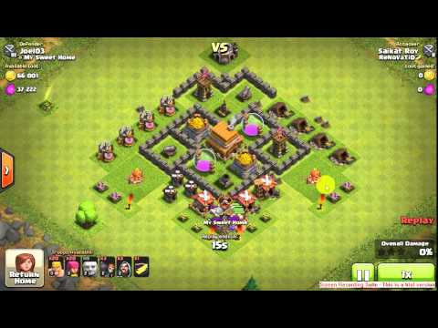 15 Giant Disappear By Defense From Wizard In The CC.... 1 Of The Worst Attack Stragedy