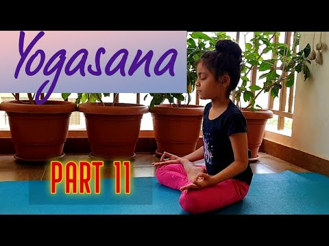 yoga for children  part 11  matsyasana  youtube