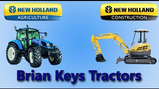 Brian Keys Tractors - New Holland - Channel for New and Used Machinery