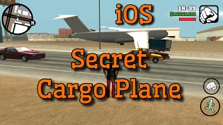 How to get Andromeda Cargo Plane GTA SA IOS! (No cheats used)