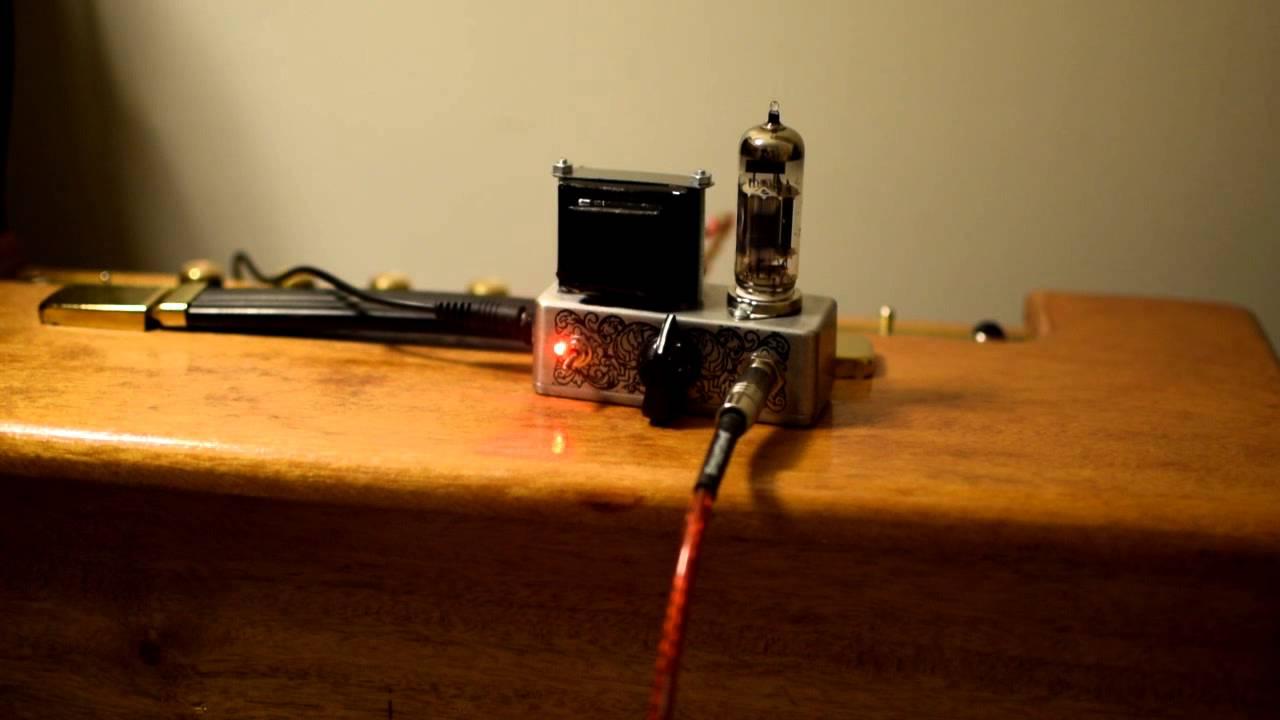 Mini Pcl84 One Tube Amplifier