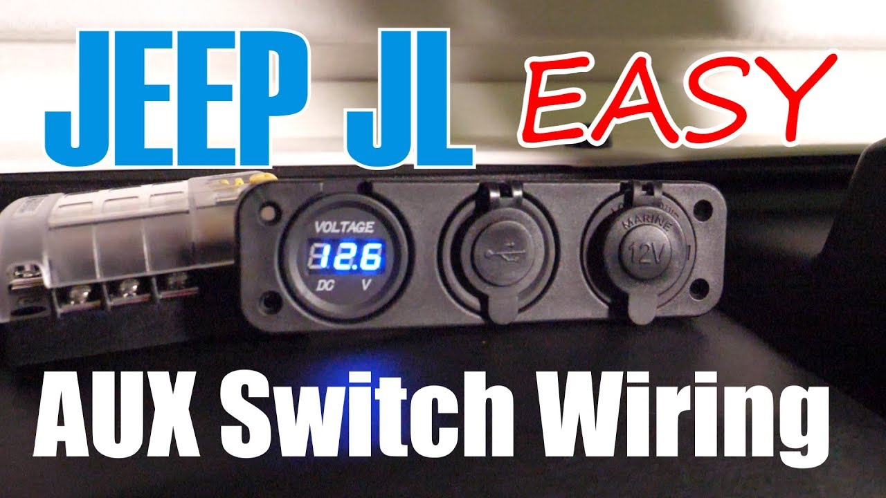 ep 007 - wiring jeep jl aux switches