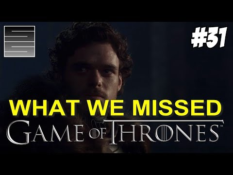 Game Of Thrones Season 8 Prep Foreshadowing | Game Of Thrones What You Missed Part 31