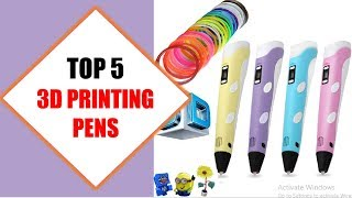 Top 5 Best 3D Printing Pens 2018 | Best 3D Printing Pen Review By Jumpy Express