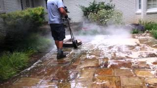 Natural Stone Patio Cleaning Chicago